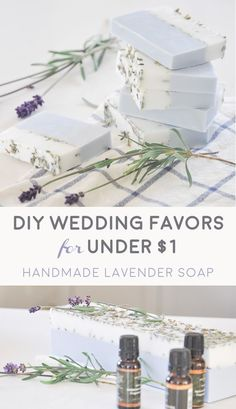 This is an easy and affordable this DIY wedding favors project! This handmade lavender soap is filled with lavender fragrance - perfect for using as wedding favors or baby shower favors. Honey Wedding Favors, Creative Wedding Favors, Inexpensive Wedding Favors, Elegant Wedding Favors, Wedding Gifts For Guests, Wedding Party Favors, Wedding Reception, Bridal Shower Favors Diy, Wedding Tokens