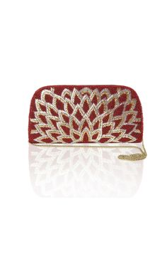 Blooming Lotus Clutch Rs. 1450/- http://www.juvalia.in/collection/cocktail-closet/the-bag-brigade/blooming-lotus-clutch.html
