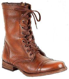 Inspiration for Roya Qasimova's brown women's work boots
