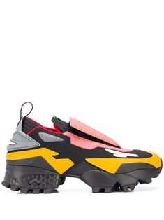 Reebok x Pyer Moss Experiment 4 Fury Trail low-top Sneakers - Farfetch Reebok x Pyer Moss Experiment 4 Fury Trail low-top sneakers - Black Ethical Brands, Slip On Sneakers, Experiment, Color Blocking, Reebok, Trail, Women Wear, Furs, Heels