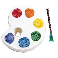Artist's Palette Cake   dhape cake cheese cake