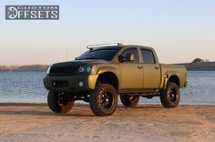 2004 Nissan Titan Slightly Aggressive Suspension Lift 9 Custom Rims Nissan Titan Truck, 2004 Nissan Titan, Nissan Trucks, Lifted Trucks, Pickup Trucks, Custom Wheels And Tires, Rims And Tires, Wheels For Sale, Navara D40