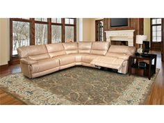 Parker Living Living Room Pegasus Sectional B SA MPEG PACKB SA   Matter. Brothers  FurnitureFort ...