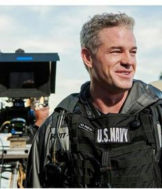 On set of The Last Ship