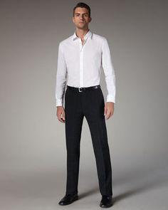shopstyle.com: John Varvatos Check Slim Pants