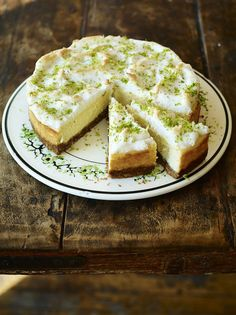 Jamie Oliver's NYC cheese cake