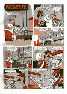 Accidente Condor, Comic Books, Gray Hair, Jokes, Comic