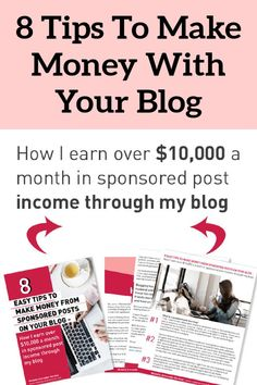 Sponsorships on your blog are a great way of earning a living online. With this time-saving cheat sheet, you'll learn how to make sponsored post income from your blog. Make More Money, Make Money Blogging, Extra Money, Make Money Online, Making Ideas, Making 10, Money Change, Creating Passive Income, Time Saving
