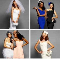 I've always loved Bebe and now they have a bridal collection