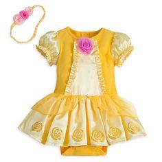 Belle Bodysuit Costume for Baby | Disney Store
