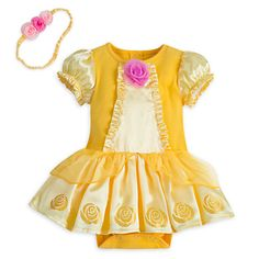 Belle Bodysuit Costume for Baby | Disney Store