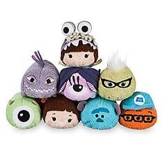 Monsters, Inc. Mini ''Tsum Tsum'' Plush Collection