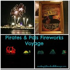 Pirates and Pals Fireworks Voyage - Travel With The Magic | Travel Agent | Disney Vacation - Amy@TravelWithTheMagic.com