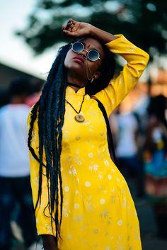 www.cewax.fr aime ce look afropunk, ethno tendance, style ethnique. Dans le même style, visitez la boutique de CéWax : http://cewax.alittlemarket.com/ #Africanfashion, #ethnotendance -Sunshine. She looks awesome!