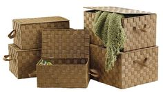 #Baskets! As far as the eye can see...  Organize with style.    www.signaturehomestyles.biz/ruthonsailor