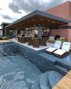 Amazing Swimming Pools, Swimming Pool Tiles, Luxury Swimming Pools, Swimming Pool Designs, Small Indoor Pool, Small Backyard Pools, Swimming Pools Backyard, Pool Landscaping, Small Backyards