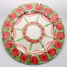Valo Platzteller Christmas Tree, Plates, Holiday Decor, Tableware, Design, Home Decor, Red, Green, Dishes