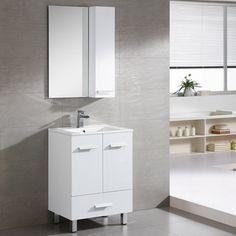 Fine Fixtures Atwood 23-inch White Vanity | Overstock.com Shopping - Great Deals on Bathroom Vanities