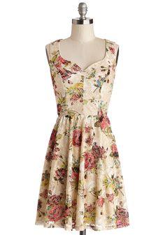 Come Crochet with Me Dress | Mod Retro Vintage Dresses | ModCloth.com