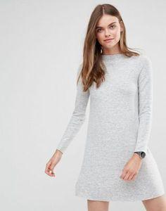 Only Super Soft High Neck Knit Dress