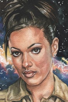 Doctor Who Martha Jones 4 x 6 Reproduction Art by MarkSatchwillArt, $5.00