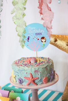 """Photo 9 of 41: Mermaid / Birthday """"Mermaid Under the Sea Party"""" 