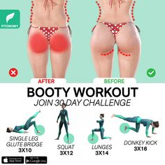 Excersise Band Workout, Buttocks Workout, Full Body Gym Workout, Gym Workout Videos, Gym Workout For Beginners, Waist Workout, Workout Plans, Fitness Workouts, Fitness Workout For Women