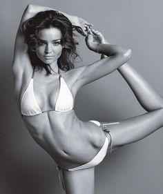 #yoga miranda kerr yoga inspiration