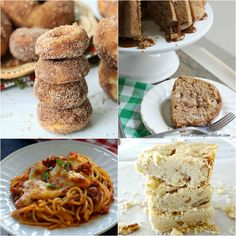 Featured recipes include: Baked Apple Cider Doughnuts, Caramel Apple Pound Cake, Pecan Shortbread and Ultimate Baked Spaghetti