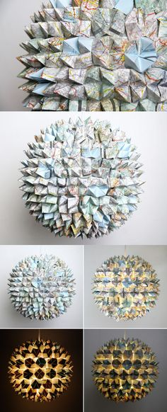origami from maps