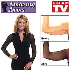 Finally a product that will turn me into a black woman with snagging arms