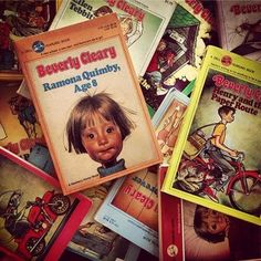 Beverly Cleary <3 Ramona Quimby is still one of my favorite characters of all time!