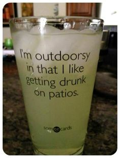 and this is why I love The Irish Isle in Middletown VA :) Best outdoor patio bar with cider on tap!