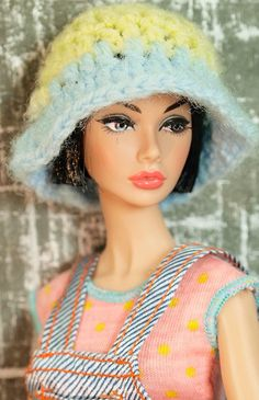 Barbie Two Toned Knit Hat