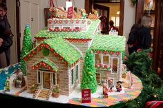 Amazing Gingerbread Houses | Candy House at The Guenther House | Flickr - Photo Sharing!