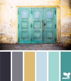 Love the color of this door!