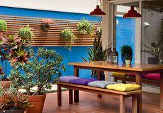 Ambiente projetado pela paisagista Susana Bandeira, da Maria Flor Paisagismo