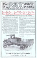 Reo Model J Two-Ton Truck 1915 Ad Picture