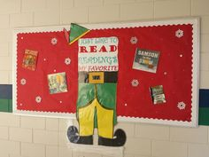 Winter Bulletin Boards, Library Bulletin Boards, Fall Library Displays, December, Kids Rugs, Library Ideas, Holiday Decor, Christmas, Media Center