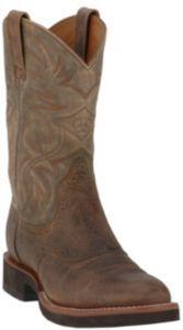 Ariat® Ambush™ Men&39s Distressed Brown Round Toe Shoe Boot | For