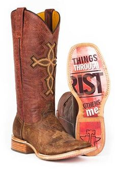 Tin Haul Women's I Believe 4:13 Western Cowgirl Boots - HeadWest Outfitters