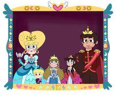 Mewni Royal family portrait by infaminxy