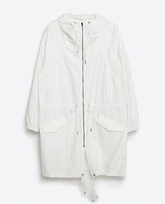LONG TRENCH COAT from Zara