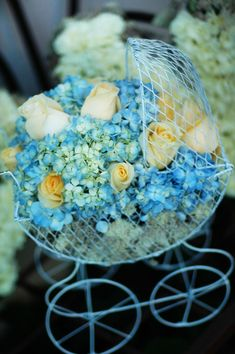 Baby Carriage Flower Arrangements   Google Search