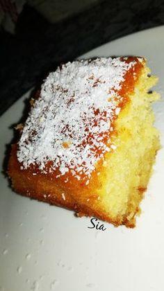 Greek Sweets, Greek Desserts, Greek Recipes, Sweets Recipes, Cake Recipes, Biscotti Cookies, Food Gallery, Pan Dulce, Fruit Tart