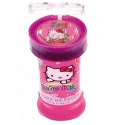 Bulles de savon Hello Kitty avec jeu de patience Anniversaire Hello Kitty, Patience, Disposable Tableware, Soap, Bubbles