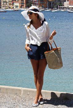 Lady Navy , Queens Wardrobe en Camisas / Blusas, Aïta en Bolsos, Stylisim en…