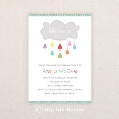 Hey, I found this really awesome Etsy listing at https://www.etsy.com/listing/233812646/neutral-baby-shower-invitation-cloud