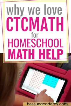 If you're looking for homeschool math help, or even just general online math help, look no farther than CTCMath.  CTCMath is the best online homeschool math curriculum for homeschoolers or kids of all situations.  The simple math lessons can be used as math supplement, math help, or a full and complete math curriculum.  It's easy and it's inexpensive!  Check out my CTCMath review.