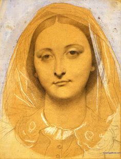 Ingres - Mademoiselle Mary de Borderieux